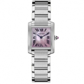 2013 Fashion Cartier Tank Francaise Pearl Made Ladies Watch Fake