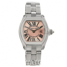 Guaranteed Cartier Roadster Watch Stainless Steel Watch Promotional