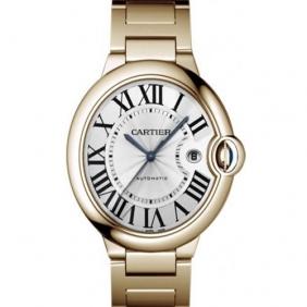 Cheap sale Ballon Bleu de Cartier Automatic Mens Watch in Rose Gold