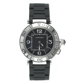 Classic Fashion Cartier Pasha Seatimer Automatic Unisex Watch Free Shipping