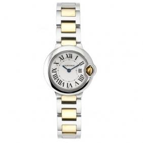 Replica Ladies Ballon Bleu de Cartier 18K Yellow Gold Watch For Sale