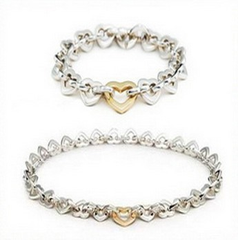 Paloma Picasso Loving Heart Necklace and Bracelet Set