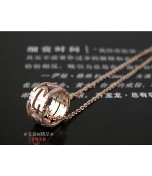 Bulgari Bulgari Cuff Bracelet in 18kt Pink Gold with Swarovski Crystal