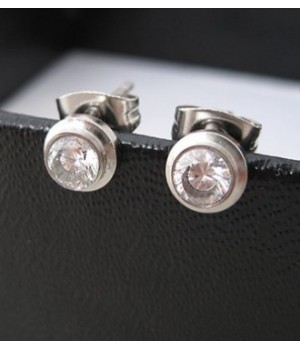 Cartier D'Amaour Diamonds Earrings in White Gold
