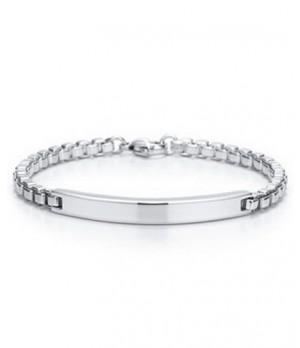 Tiffany Ladies Venetian Link ID Bracelet
