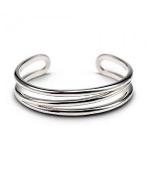 Tiffany Large Open Diagonal Cuff Bracelet