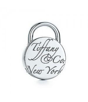 Tiffany Notes Round lock charm