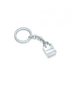 Tiffany gift bag keyring on sale