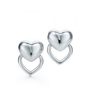 Tiffany Puffed Heart earrings