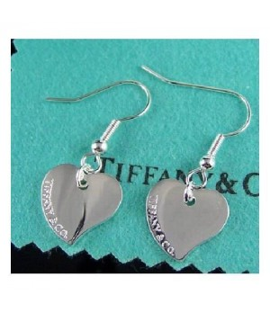 Tiffany Peach Hearts earrings