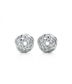 Tiffany Pierced intertwined earrings on sale