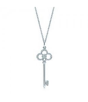 Tiffany Keys Fleur de lis key charm