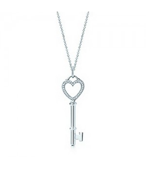 Tiffany Keys Heart key pendant