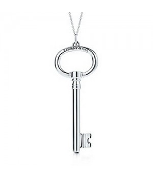 Tiffany Keys Oval key pendant
