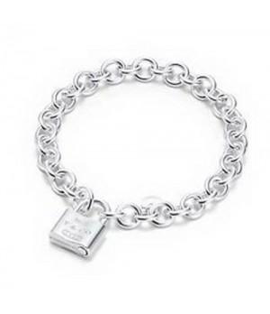 Tiffany 1837 Lock charm bracelet replica