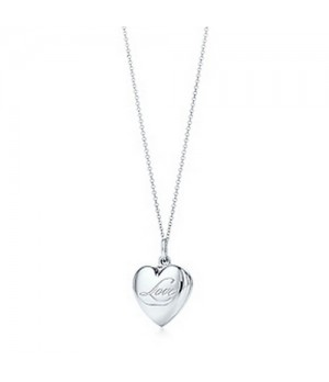 Tiffany Love locket and chain