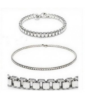 Tiffany Jewelry Venetian Link Set