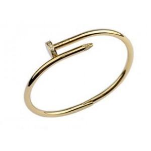 Cartier Juste un Clou Bracelet in 18kt Yellow Gold Diamond-Paved