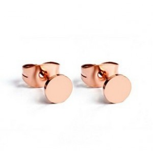 Cartier Fastener Stud Earrings in 18kt Pink Gold