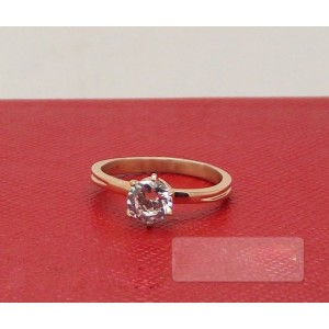 Cartier SOLITAIRE 1895 Wedding Ring in 18k Pink Gold
