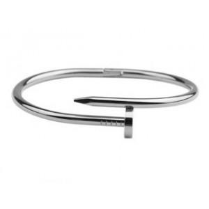 Cartier JUSTE UN CLOU Bracelet in 18k White Gold