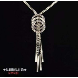 Bvlgari Charms Necklace in 18kt White Gold